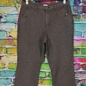 Liz Claiborne Tabitha Lizwear Black Jeans Size 14